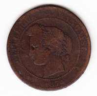 FRANCE KM 815.1, 10ct, 1874A. (B465) - Frankrijk