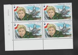 FRANCE / 2014 / Y&T PA N° 78 ** : Caroline Aigle 3,55 € (de Feuille) 4 TP En Coin Daté 2014/02/26 - Dated Corners