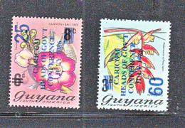 GUYANA -  1986 CARICOM SET OF 2 MNH - Guyana (1966-...)