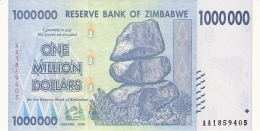 ZIMBABWE   1 Million Dollars   5/11/2008   P. 77   UNC - Zimbabwe