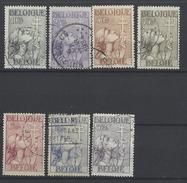 Nr 377-83 Gestempeld - Belgique