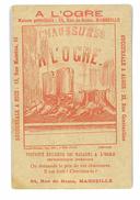 CHROMO IMAGE MAGASIN A L'OGRE CHAUSSURES MARSEILLE ILLUSTRATION DEVINETTE CHERCHEZ L'OBJET - Sonstige