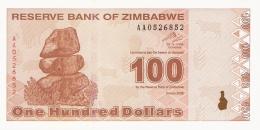 ZIMBABWE   100 Dollars   2/2/2009   P. 97   UNC - Zimbabwe
