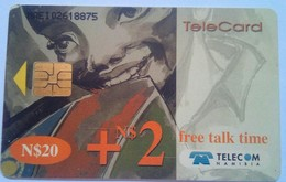 Namibia Phonecard 12 Years Indepence N$20