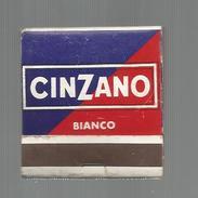 Tabac , Boites , Pochette D'ALLUMETTES , Publicité , 2 Scans , CINZANO BIANCO , Recette Italienne - Matchbox Labels