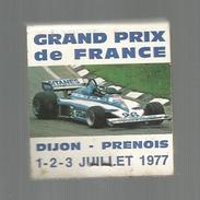 Tabac , Boites , Pochette D'ALLUMETTES , Publicité , 2 Scans , LIGIER GITANES , Sport Automobile , G.P. De France , 1977 - Boites D'allumettes - Etiquettes