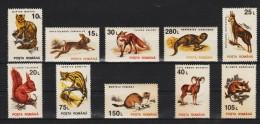 1993 -  Serie Courante/animaux Mi 4901/4910 Et Yv 4094/4103 MNH - 1948-.... Republiken