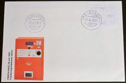 ISLAND 1983 MI-NR. Automatenmarken ATM 1 FDC - Vignettes D'affranchissement (Frama)