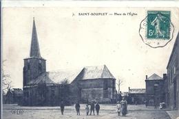 NORD - 59 -SAINT SOUPLET - Place De L'église - Autres Communes