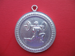 BANTAM 1972,weightlifting-aluminium Medal - Other