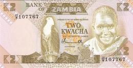 ZAMBIE   2 Kwacha   ND (1980-88)   Sign.5   P. 24a   UNC - Zambie