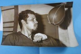 Boxe 9/4/1976 Avant Le Match Robles Hamani, Robles à L'entrainement /5/ - Sport