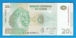 CONGO - 20 Francs 2003 SC P-94 - Congo