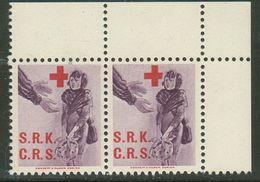 Suisse // Schweiz // Switzerland // Erinnophilie // Vignette , Croix Rouge Suisse - Erinnophilie