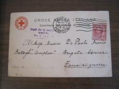 CARTOLINA CROCE ROSSA ITALIANA, COMITATO REGIONALE DI GENOVA - Croce Rossa