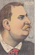GIOVANNI PASCOLI - POETA ITALIANO - HUMOR - VIAGGIATA NEL 1903 - ILLUSTRATORE BONET - Personaggi Storici