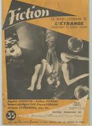 FICTION N° 35 Octobre 1956 Revue Littéraire De L'étrange Fantastique Et Science Fiction - A Christie - A Porges - Etc - Libri, Riviste, Fumetti