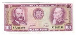 Peru 1000 Pesos 1969 - Pérou