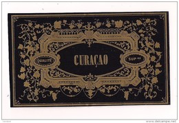 Etiquette CURACAO Ancienne En Chromo-litho - - - Etiquettes