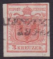 AUSTRIA 1854  Sc 3e Type III Used - 1850-1918 Imperium