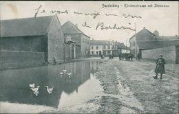 AK Würselen-Bardenberg, Kirchenstrasse Mit Steinhaus, Gedruckt Um 1907, Beschrieben 1918 (23276) - Würselen