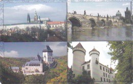 Czech Rep. C319, Castles & Towers, Summer I., 2 Scans.