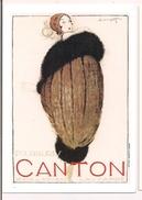 Fourrures Canton - Charles Loupot - 1919 - Affiches Sonor, Genève - Litho 130 X 90 - - Publicité