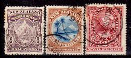 Nuova-Zelanda-0034 - 1898 (o) Used - Privi Di Difetti Occulti. - Oblitérés