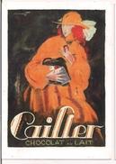 Chocolat Au Lait Cailler - Charles Loupot - 1921 - Orell Füssli, Zürick - Litho 129 X 91 - - Pubblicitari