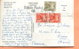M5  TIMBRES TAXE PAIRE DE  10 CENTIMES + 20 CENTIMES TAD REIMS 1960 - Postmark Collection (Covers)