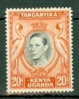 K.U.T.: 1938/54   KGVI    SG139a    20c    [Perf: 14]   MH - Kenya, Uganda & Tanganyika