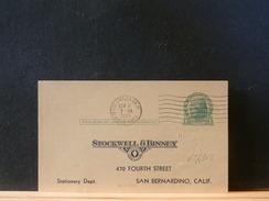 65/918  CP.USA  1926  VERSO PIQUAGE PRIVE