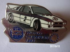 Lancia Word Champion 1983 - Pin