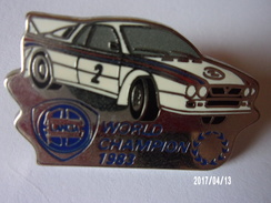 Lancia Word Champion 1983 - Pins