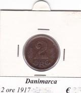 DANIMARCA   2 ORE  1917  COME DA FOTO - Danimarca