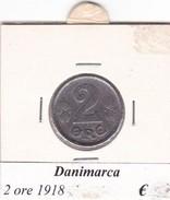 DANIMARCA   2 ORE  1918  COME DA FOTO - Danimarca