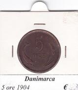 DANIMARCA   5 ORE  1904  COME DA FOTO - Danimarca