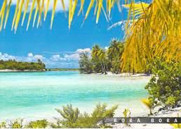 Polynésie Française-les Iles Du Pacific Sud -Plage Sur Un Motu De BORA BORA  (Tahiti - Polynésie Française