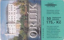 Czech Rep. C325, Castle Orlík, 2 Scans.