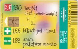 Czech Rep. C335, Card For Children, 2 Scans.