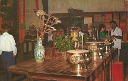 Snake Temple  Interior View   -  Penang - Malaysia.  S-3226 - Malaysia