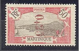 """Martinique: Yvert N° 109**; MNH; Signé """"Brun""""; Rare!!! - Unused Stamps"""