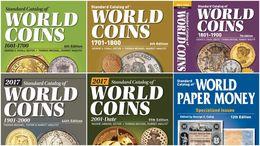 6 Catalogues De Monnaies Du Monde 1601-2017 DVD - Libros & Software