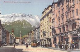 Autriche - Innsbruck - Tramway Commerces Maria Theresienstrasse - Innsbruck