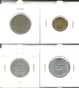 Lot De 32 Monnaies à Identifiées - Other Coins
