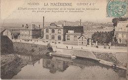 08 Mezieres 1907 La Macérienne Clément & Cie Joli Plan Animée éditeur Sans Dos Scanné - Autres Communes