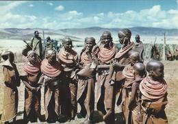Masai Women  -  East Africa.  # 05752 - Postcards