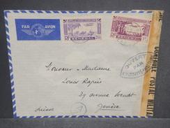 FRANCE / SÉNÉGAL - Enveloppe De Dakar Pour La Suisse Avec Contrôle Postal , Affranchissement Plaisant - L 7256 - Sénégal (1887-1944)