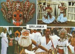 Marsks And Devil Dance - Sri Lanka. Sent To Germany. # 05753 - Sri Lanka (Ceylon)
