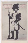 Aube - Grande Cavalcade Historique De Brienne-le-Château 31 Mars 1907 - Un Grenadier 1814 (M. Bonnemain) - Francia